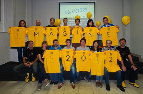 Staff and dreamers of Imagine Postdigital 2012
